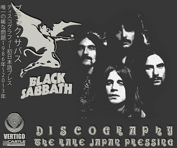 BLACK SABBATH «Discography» (37 x CD Japan First Press • Issue 1986-2013)