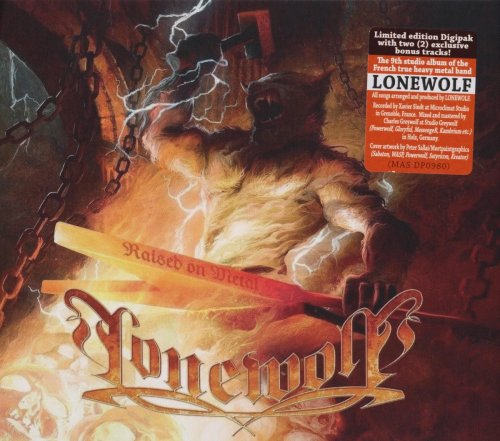 Lonewolf - Raised On Metal [Limited Edition] (2017)