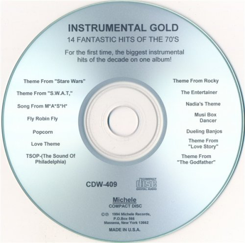 London Pops Orchestra - Instrumental Gold: 14 Fantastic Hits Of The 70's (1994)