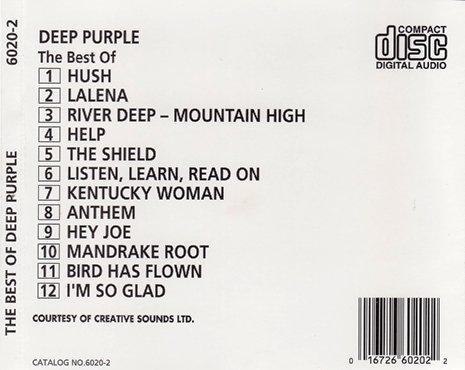 Deep Purple - The Best Of Deep Purple (1987)