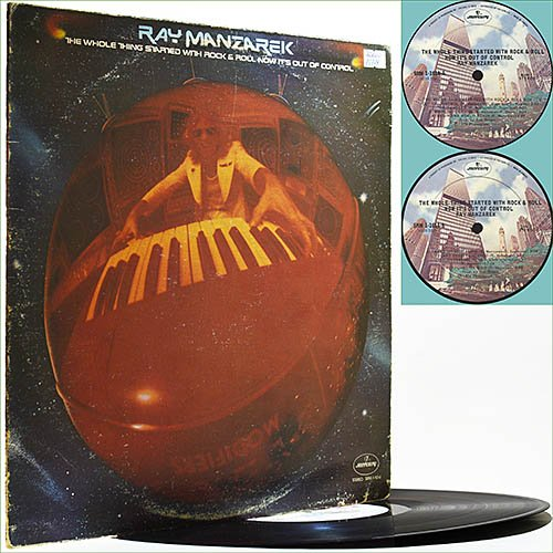 Ray Manzarek (The Doors) - The Whole Thing Started With Rock & Roll (1974) (Vinyl)