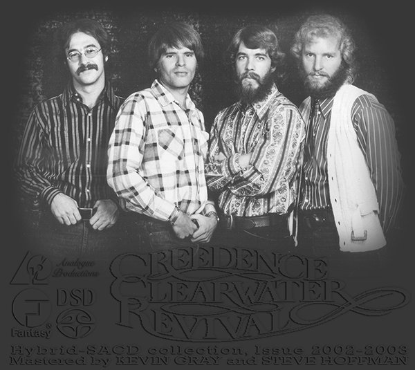 CREEDENCE CLEARWATER REVIVAL «Discography 1968-1980» (8 x SACD • Fantasy, Inc. • Issue 2002-2003)