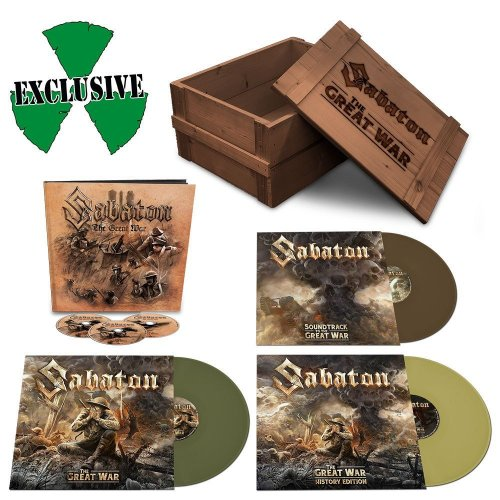 Sabaton - The Great War [3CD] [WEB] (2019)