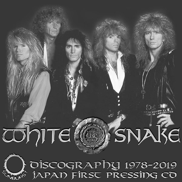 WHITESNAKE «Japan First Press» (16 x CD • Sunburst Records Ltd. • 1978-2019)