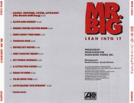 Mr. Big - Collection (1989-1996) [4 Japan Edit. SHM-CD 2009]