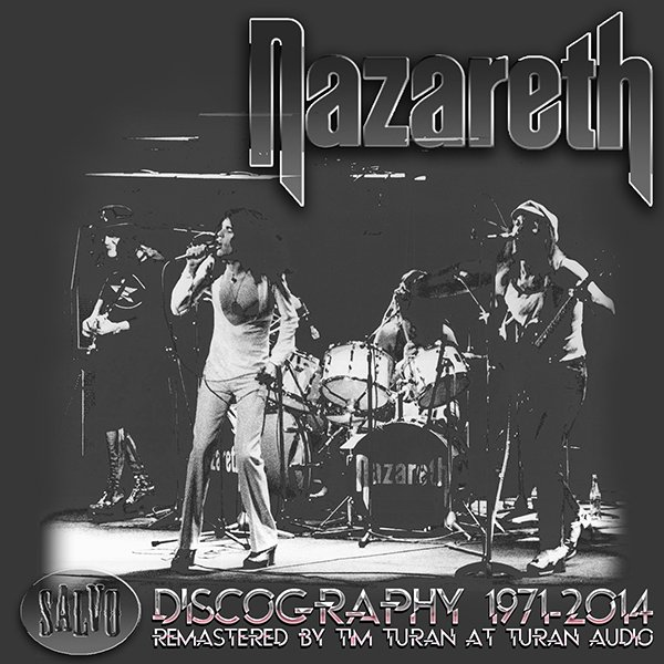 NAZARETH «Discography 1971-2014» (28 x CD • Union Square • SALVO Re-mastered 2009-2014)