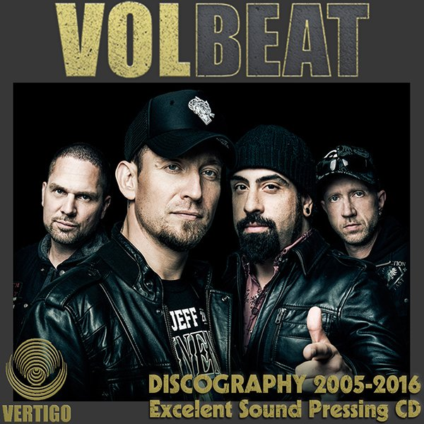 VOLBEAT «Discography» (8 x CD • Vertigo / Universal Music GmbH • 2005-2016)