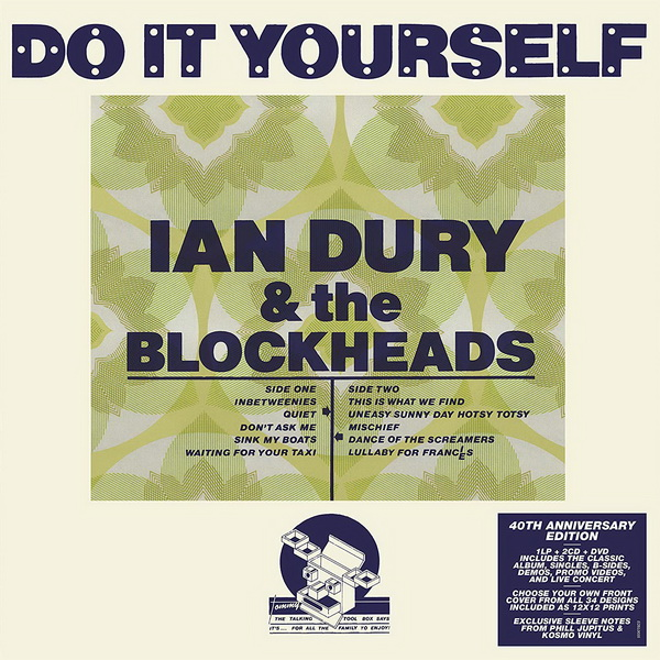 Ian Dury & The Blockheads: 1979 Do It Yourself / 4-Disc Box Set Edsel Records 2019