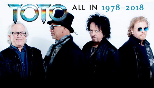 Toto: 2019 All In 1978-2018 / 13CD Box Set Columbia Records