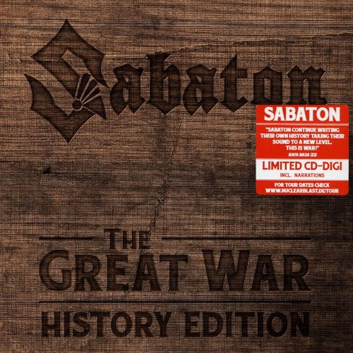 Sabaton - The Great War [History Edition] (2019)