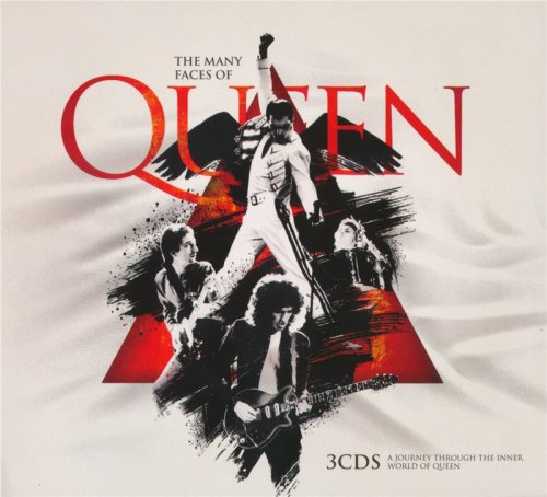 VA - The Many Faces Of Queen - A Journey Through The Inner World Of Queen (3 CD Set 2018)