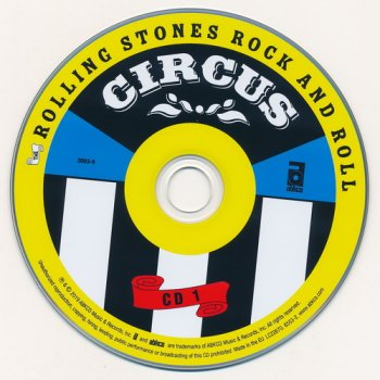 The Rolling Stones: 1996 Rock And Roll Circus / 4-Disc Box Set ABKCO 2019