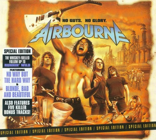 Airbourne - No Guts. No Glory. [Special Edition] (2010)