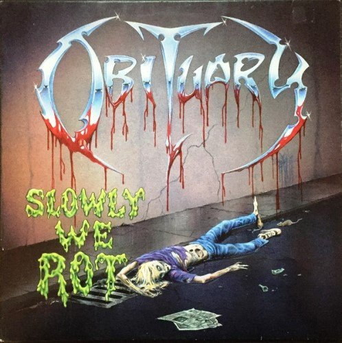 Obituary - Slowly We Rot (1989) [Vinyl Rip 24/192]