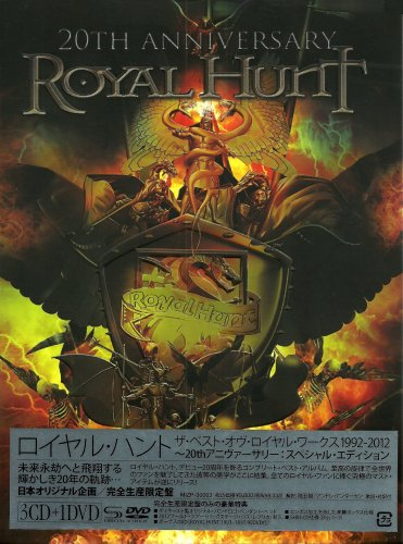Royal Hunt - 20th Anniversary: The Best Of Royal Works (3CD) [Japanese Edition] (2012)