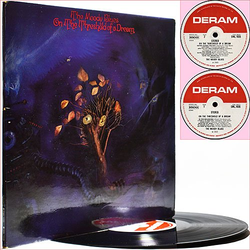 The Moody Blues -  On The Threshold Of A Dream (1969) (Vinyl)