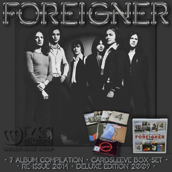 FOREIGNER «The Complete Atlantic Studio Albums» (7 x CD 2014 Rhino Entertainment Company • 8122795829)