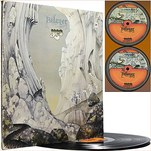 Yes - Relayer (1974) (Vinyl)