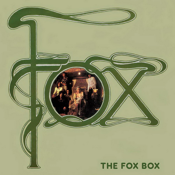 Fox: 2017 The Fox Box - 4CD Box Set Cherry Red Records