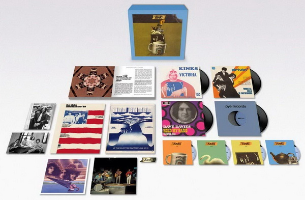 The Kinks: 1969 Arthur (Or The Decline And Fall Of The British Empire) - 8-Disc Box Set BMG 2019