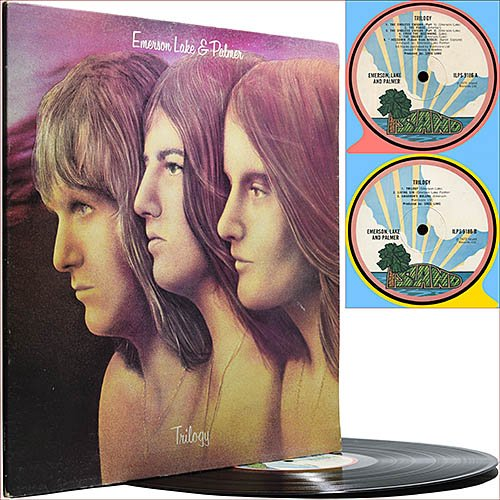 Emerson Lake and Palmer - Trilogy (1972) (Vinyl 1st press)