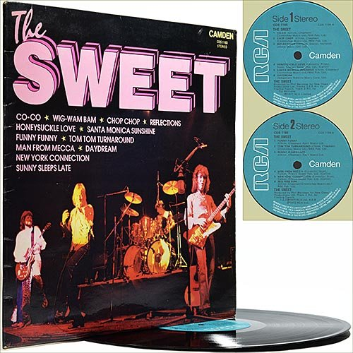 The Sweet - The Sweet (Compilation) (1978) (Vinyl)