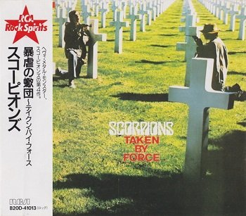 Scorpions - Taken By Force (Japan Edition) (1989)