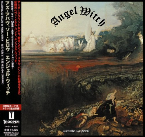 Angel Witch - As Above, So Below [Japanese Edition] (2012)