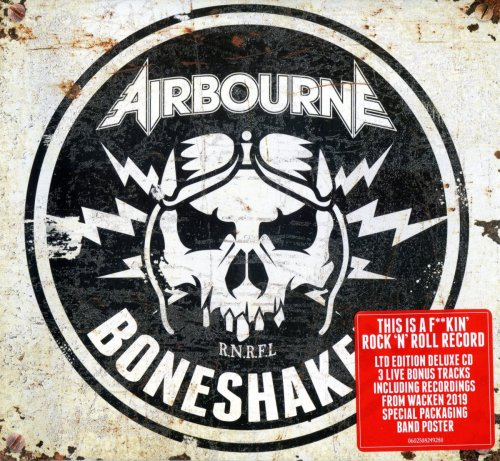 Airbourne - Boneshaker [Limited Edition] (2019)