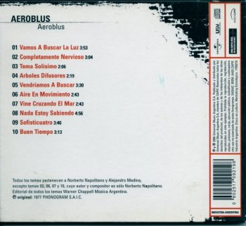 Aeroblus - Aeroblus (1977) (Remastered, Digipack, 2006)