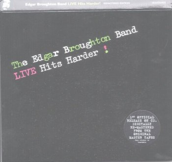 Edgar Broughton Band - Live Hits Harder! (1979) [Remastered, 2006]