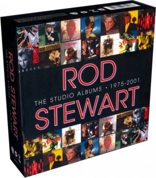 Rod Stewart - The Studio Albums 1975-2001 (14CD Box Set) (2013)