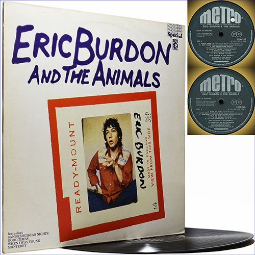 Eric Burdon and the Animals - Eric Burdon and the Animals (1975) (Vinyl)