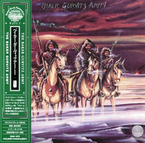 The Baker Gurvitz Army - The Baker Gurvitz Army (1974) [Mini LP Japan Reissue 2005]