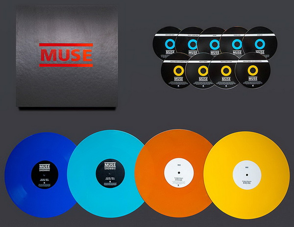 Muse: 2019 Origins Of Muse - 13-Disc Box Set Warner Music