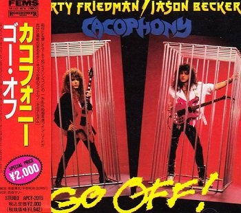 Cacophony - Go Off! (Japan Edition) (2015)