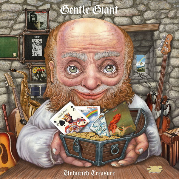 Gentle Giant: 2019 Unburied Treasure / 30-Disc Box Set Snapper Music