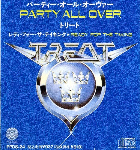 Treat - Party All Over [CDS] (1990)