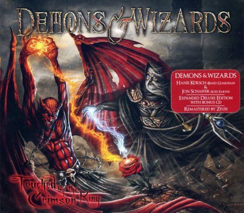 Demons & Wizards - Touched By The Crimson King [2CD] (2005) [2019]