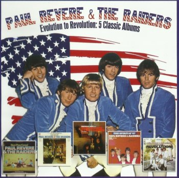 Paul Revere & The Raiders - Evolution To Revolution 5 Classic Album (1965-67) (Compilation, 2013)