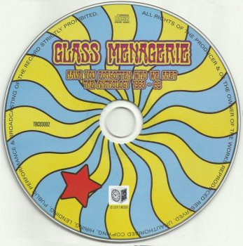 Glass Menagerie - Have You Forgotten Who We Are? The Anthology 1968-69 (Remastered, 2019)