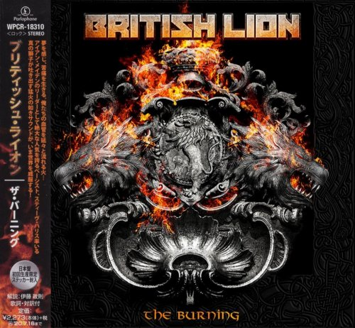 British Lion - The Burning [Japanese Edition] (2020)