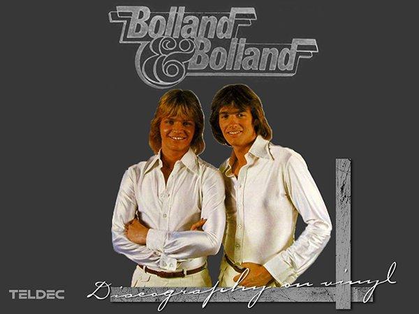 BOLLAND & BOLLAND «Discography on vinyl» (3 x LP • TELDEC Schallplatten GmbH • 1981-1987)