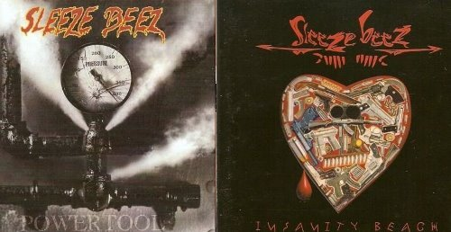 Sleeze Beez - Powertool/Insanity Beach (1992/1994)