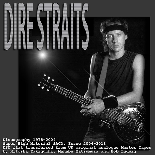 DIRE STRAITS + MARK KNOPFLER «SACD Collection» (8 x SACD • Mercury Records Ltd. • Issue 2004-2013)