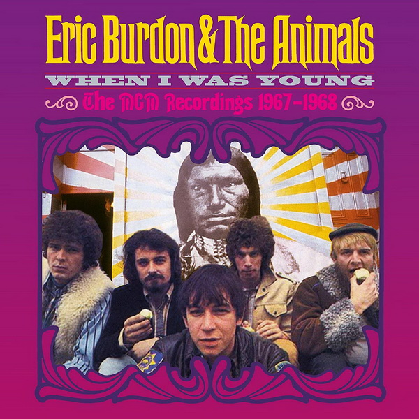 Eric Burdon & The Animals: 2020 When I Was Young (The MGM Recordings 1967-1968) / 5CD Box Set Esoteric Records