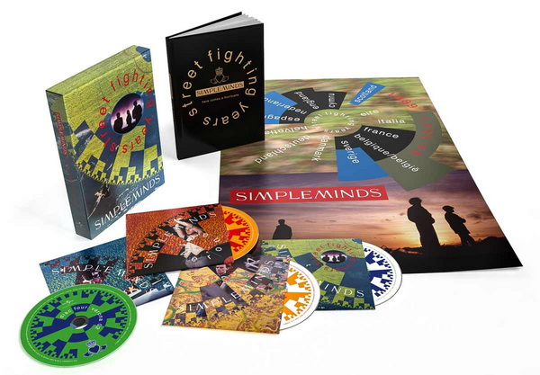 Simple Minds: 1989 Street Fighting Years / 4CD Super Deluxe Box Set Universal Music 2020