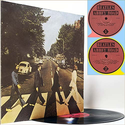 The Beatles - Abbey Road (1969) (Russian Vinyl)