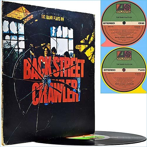 Back Street Crawler - The Band Plays On (1975) (Vinyl)