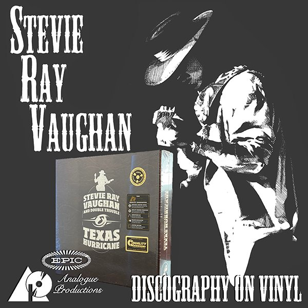 STEVIE RAY VAUGHAN & DOUBLE TROUBLE «Texas Hurricane» (BoxSet Analogue Productions • 2014)